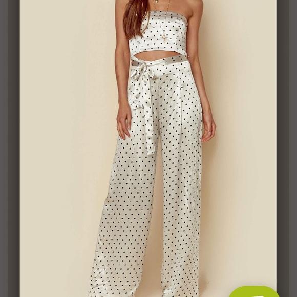 99a0818ef43 Bec   Bridge Dresses   Skirts - Bec   Bridge Polkadot Jumpsuit